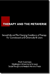 Therapy and the metaverse